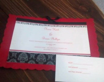 50 Wedding invitations