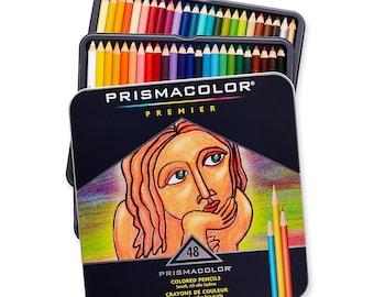 48 Prismacolor Premier Colored Pencils | Prismacolor Pencils, Color Pencils, Gifts For Artists, Coloring Pencils, Artist Gifts, Pencil Set