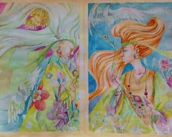 Diptych: Summer-Autumn