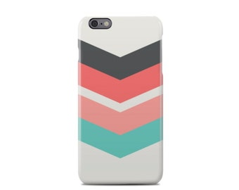 Colored Chevron Pattern iPhone 6 Case - iPhone 6 Plus Case - iPhone 5 Case - iPhone 5S Case - iPhone 5C Case