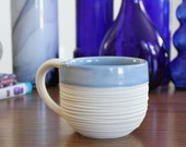 SHOP SALE Groove Mug in Cornflower Blue