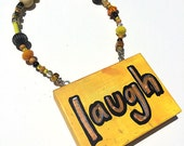 Laugh Sign - Funny Word A...
