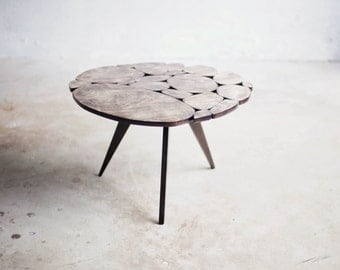 Modern Coffee Table SALE Reclaimed Plywood Small Size