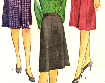 Simplicity 1152 Skirts in Three Styles circa 1944