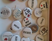 Pick Four Pinback Buttons