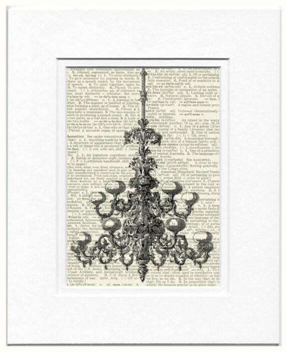 chandelier no. 1 print