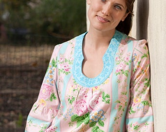 Sis Boom Shana Tunic with Scientific Seamstress Pattern and Instructions, PDF E-Book