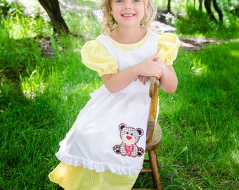 Cute Little Goldilocks Costume dress