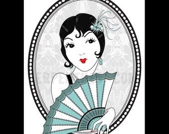 OLIVE! // Gatsby version small fine art print
