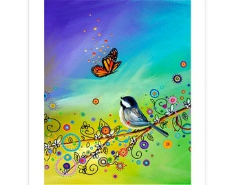 Nature and Whimsy Limited Edition - Greetings - Signed 8x10 Semi Gloss Print (5/10)