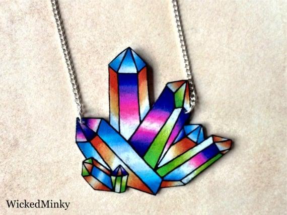 crystal angel opal aura rainbow colorful tattoo drawing. Black Bedroom Furniture Sets. Home Design Ideas