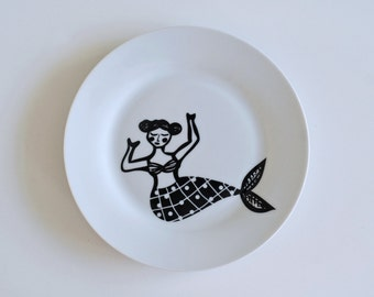 Mermaid breakfast plate