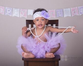 First Birthday Outfit Girl Tutu, Cake Smash Outfit Girl Tutu, 1st Birthday Tutu Skirt, First Birthday Tutu, Tulle Skirt, Newborn Tutu Gift