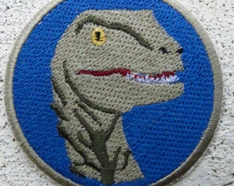 Delta Velociraptor Patch (Jurassic World)