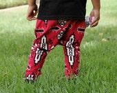 SALE! Baby Boy Baby Girl Red Orange Black Aztec Tribal Print Harem Pants: Etsy kid's fashion, Toddler Boy, Toddler Girl