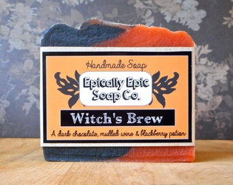 Witch's Brew Cold Process Soap - Vegan - Halloween Soap