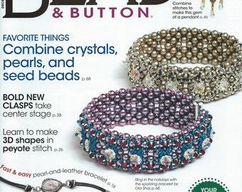 Bead & Button Magazine December  2014 Issue
