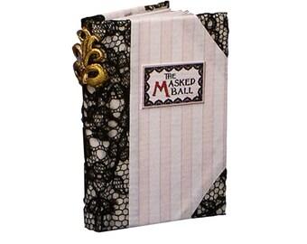 THE MASKED BALL  Fine Binding Edition - Bo Press Miniature Books
