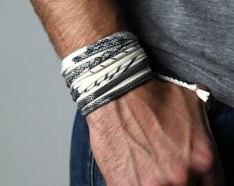 For Men, Boyfriend Gift, Gift for Boyfriend, Gift for Men, Husband Gift, Gift for Him, Boyfriend, Wrap Bracelet, Mens Bracelet, Gift for Guy