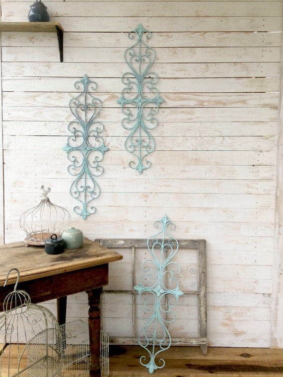 Items similar to metal wall decor anthropologie home for Anthropologie wall mural