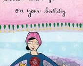 Greeting Card : Surrounded by Sweetness