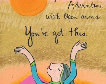 Greeting card : Brave New Adventure #118-C
