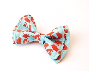 Kids Bow Tie - Fox Bow Tie - Toddler Bow Tie - Orange Bow Tie - Teal bow tie - Fox Tie - Orange Tie - Teal Tie - Mens Bow Tie - Boys bow Tie