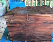 Hand Made Wooden Storage Box
