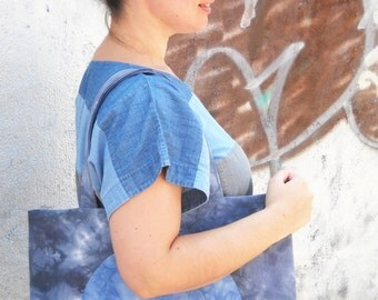 Full Moon Tote Bag PDF Sewing Pattern