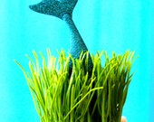 Mermaid tail under the sea ocean water mermaid decoration