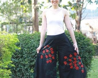 SALE 25 USD--B051--- Hydrangea (Pants)