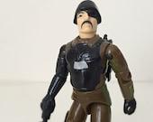 Major Bludd - Vintage GI Joe Action Figure - Early 1980s Hasbro GI Joe Toy Collection - Evil Cobra Leader - Straight Arm GI Joe Figure