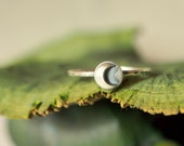 Silver Moon Stacking Ring Crescent Moon Ring Bohemian Ring Silver Stacking Ring Silver Jewelry Bohemian Jewelry