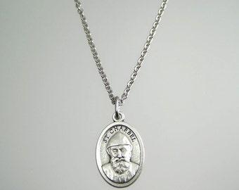 Saint Charbel Medal Necklace