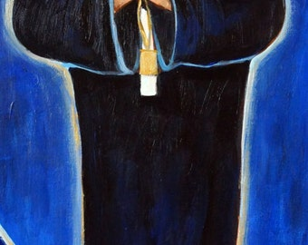 St. Charbel, limited edition giclee