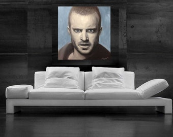 Breaking Bad Painting Jesse Pinkman CANVAS print