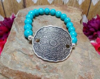 Blue Bohemian Bracelet