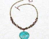 Mosaic Turquoise Pendant ...