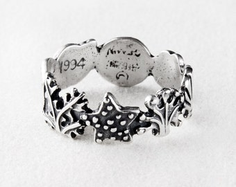 Seashell Treasures Sterling Silver Ring
