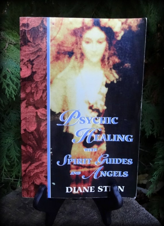 Vintage Book Psychic Healing With Spirit Guides And By Besom