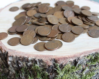 Lot of 10 Vintage Wheat Pennies
