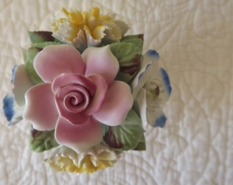 Vintage Royale Stratford  Fine Bone China Handcrafted in Staffordshire England Flowers