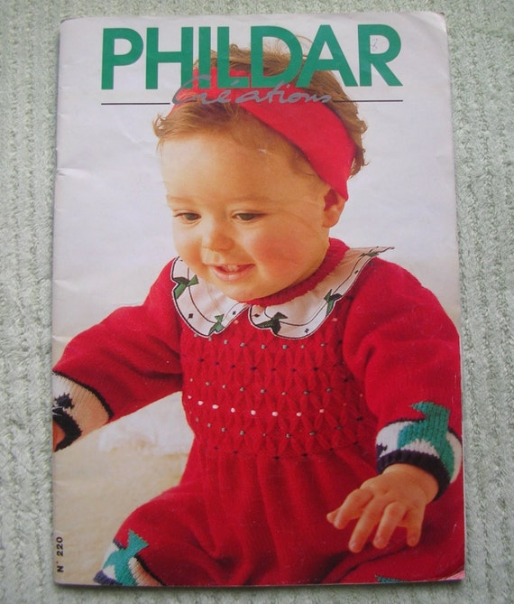Phildar Baby Knitting Pattern Books : Baby & Toddler Knit Pattern Book European by DollBabiesReborns