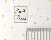 Star Wall Decals . Nursery Wall Decal . Kids Wall Stickers . Confetti Star Decals Set of 102 . AP0050NF