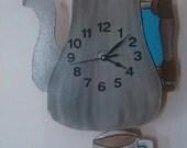 Kitchen Coffee pendulum wall clock