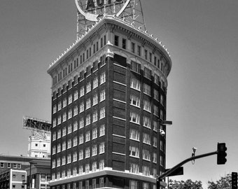 Kansas City Western Auto Building - Fine Art Photograph Vintage Historic Landmark