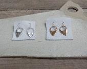 Crescent Tab Earrings