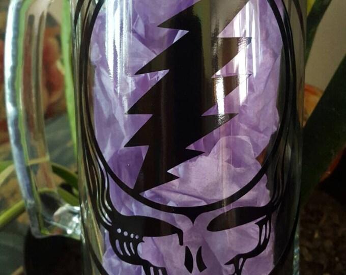 Grateful Dead Stealie Face 22oz Beer Mug Party Mug