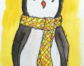 ORIGINAL Autumn Penguin