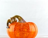 2016 Blown Glass Jack-be-LIttle Fairy Tale Pumpkin (Musquee de Provence)